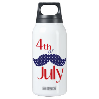 4th of July Thermos Bottle