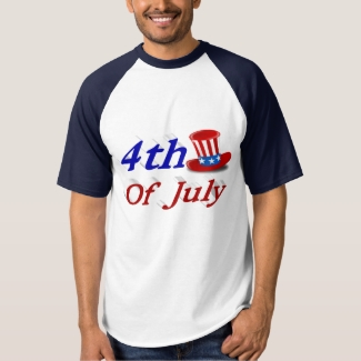 4th of July Uncle Sam Hat 3D Shirt