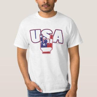 4th of July USA ROCKS wht T-Shirt