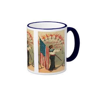 4th of July - Vintage Art Mug