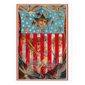 4th of July - Vintage Art Post Cards