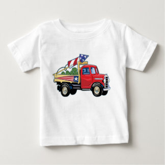4th of July Vintage Truck Infant T-shirt