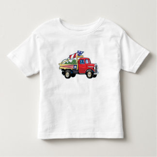 4th of July Vintage Truck Toddler T-shirt