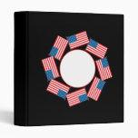 4th Of July Vinyl Binders
