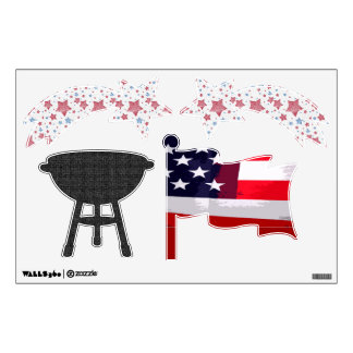4th of July Wall Stickers
