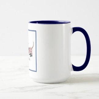 4th of July Wiener Dog Mug Cup