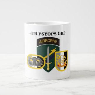 4th PSYOPS GROUP Jumbo Mug 20 Oz Large Ceramic Coffee Mug