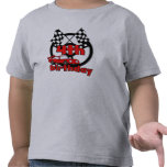 4th Race Car Birthday Tee Shirts