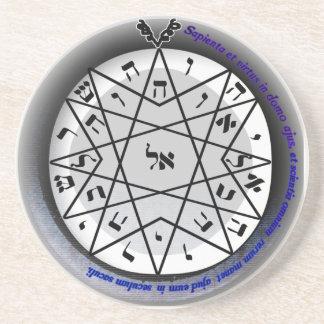 4th seal of mercury drink coaster