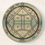 4th seal of venus drink coaster