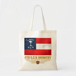 4th South Carolina Infantry Tote Bag