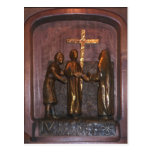 4th Station of the Cross Post Cards