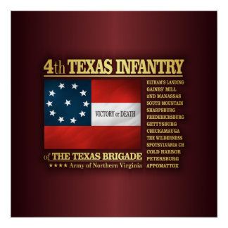 4th Texas Infantry (BA2) Poster