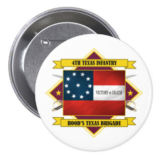 4th Texas Infantry Button