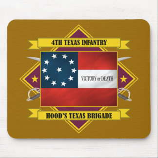 4th Texas Infantry Mouse Pad