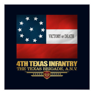 4th Texas Infantry Poster