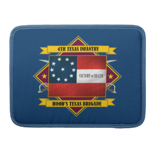 4th Texas Infantry (v5) Sleeve For MacBook Pro