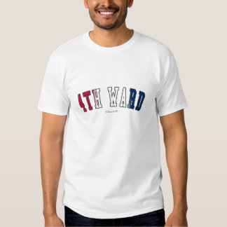 4th Ward in Texas state flag colors Shirt