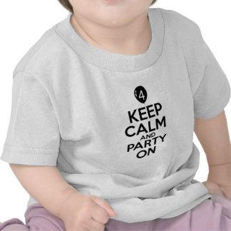 4th year old birthday designs tee shirt