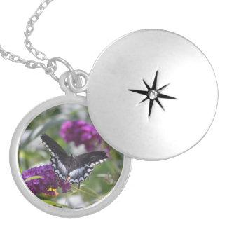 4theloveof4.JPG Round Locket Necklace
