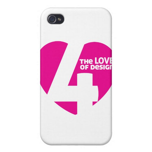 4THELOVEOFDESIGN iPhone 4/4S CARCASAS