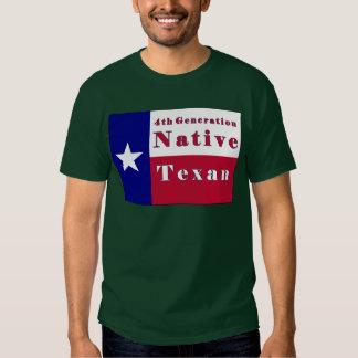 4to Bandera nativa del Texan de la generación Playeras