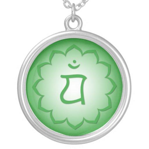 4to Chakra - Anahata Collar Plateado