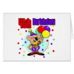 4to Cumpleaños de Australia del cumpleaños Tarjeta