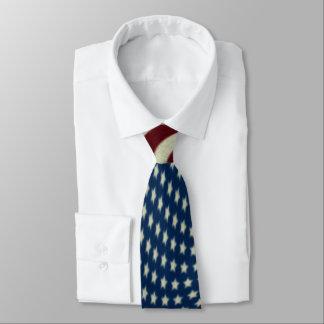 4to De banderas americanas blancas de julio y Corbatas Personalizadas