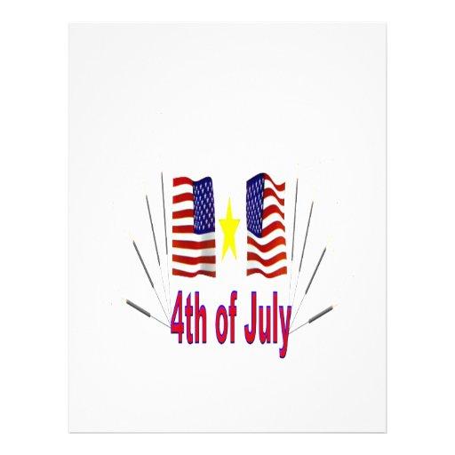 4to De julio Tarjetones