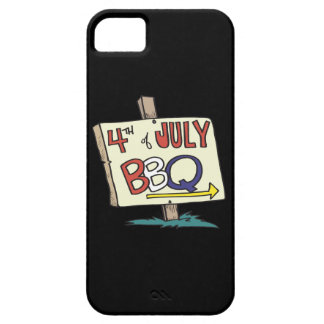 4to De la barbacoa de julio iPhone 5 Case-Mate Cobertura