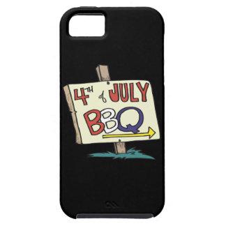 4to De la barbacoa de julio iPhone 5 Case-Mate Fundas