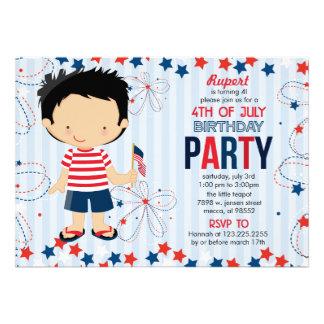 4to de la fiesta de cumpleaños de julio para los n anuncio