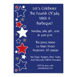 4to De la invitación de julio (estrellas blancas y