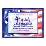 4to de la invitación de la celebración de julio
