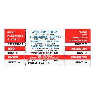 4to de la invitación del boleto del concierto de j
