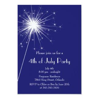 4to de la invitación del fiesta de julio con los
