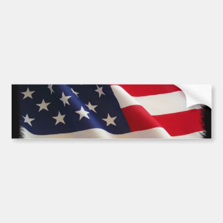 4to de la mercancía de la bandera americana de jul etiqueta de parachoque
