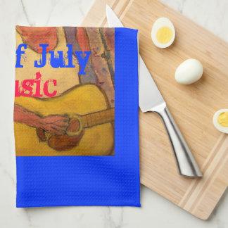 4to de la música de julio toallas