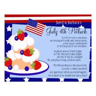 4to de la torta de frutas de julio comunicados