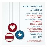 4to de las invitaciones del fiesta del Día de la Comunicados Personales