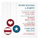 4to de las invitaciones del fiesta del Día de la I Comunicados Personales