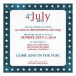 4to de las invitaciones del fiesta del Día de la I Invitaciones Personalizada
