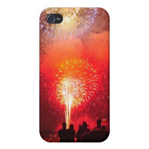 4to de los fuegos artificiales de la tarde de juli iPhone 4/4S funda