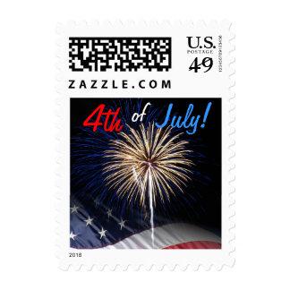4to de los sellos de los fuegos artificiales de ju