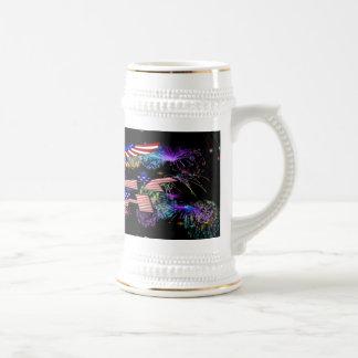 4to del fiesta de julio tazas de café