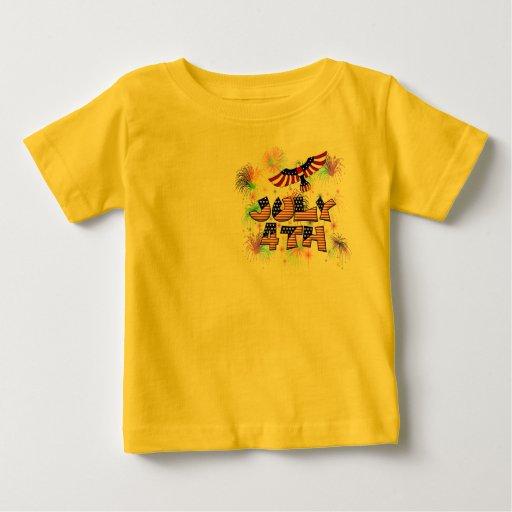4to del fiesta de julio tshirt