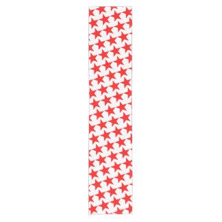 4to del modelo de estrella rojo de la celebración camino de mesa corto
