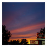 4to del poster de la puesta del sol de julio