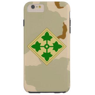 """4to Desierto Camo división de la hiedra"""" de la Funda De iPhone 6 Plus Tough"""